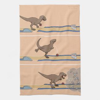 De Handdoek van de Keuken van het Kegelen van Rex