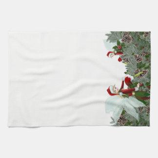 De Handdoek van de Keuken van Kerstmis