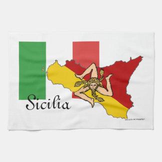 De Handdoek van de Keuken van Sicilië