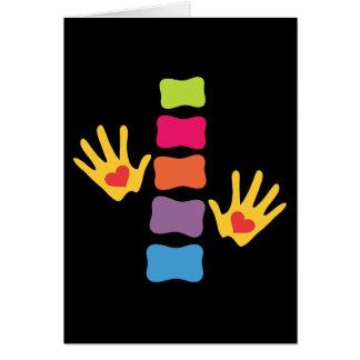 De Handen van de chiropraktijk en de Lege Kaart