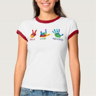 De Handen van de Massage van de Liefde van de T Shirt