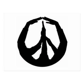 De Handen van de vrede Briefkaart