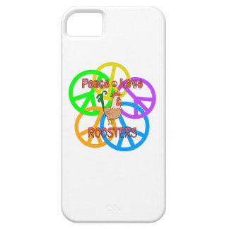 De Hanen van de Liefde van de vrede Barely There iPhone 5 Hoesje