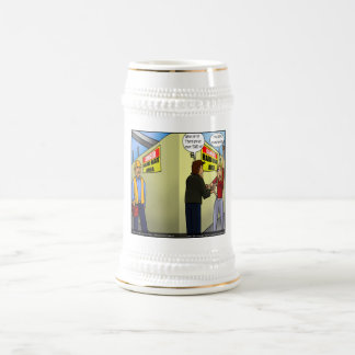De harde Geleide Grappige Giften van de Partner Bierpul