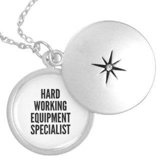 De harde Werkende Specialist van het Materiaal Locket Ketting