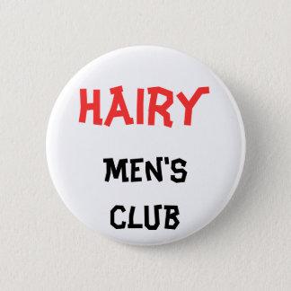 De harige Knoop van de club van het Mannen Ronde Button 5,7 Cm