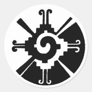 De Harmonie van het saldo Ronde Sticker
