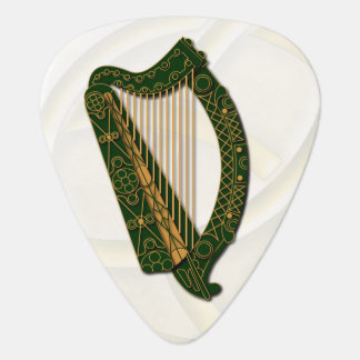 De Harp van het Wapenschild van Irland - Pic van Plectrum
