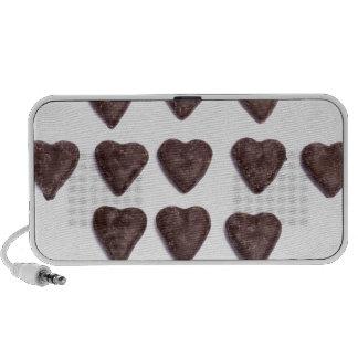 de harten van de chocoladeliefde iPhone speaker