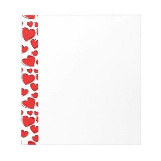 De Harten van de Liefde van Valentijn Notitieblokken