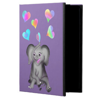 De Harten van de olifant door Happy Juul Company iPad Air Hoesje