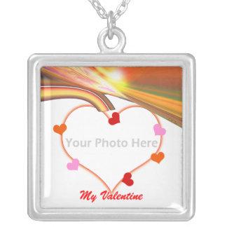 De Harten van de Valentijnskaart van de Hemel van  Persoonlijke Ketting