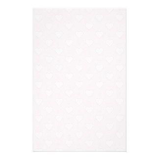 De Harten van Valentijn van de pastelkleur Briefpapier