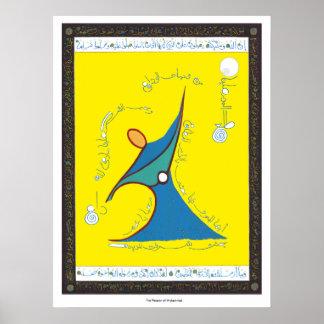 De hartstocht van Muhammad - Druk Poster