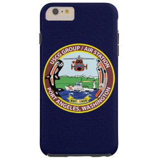 """De Haven """"Marineblauwe """" Angeles van de Post van Tough iPhone 6 Plus Hoesje"""