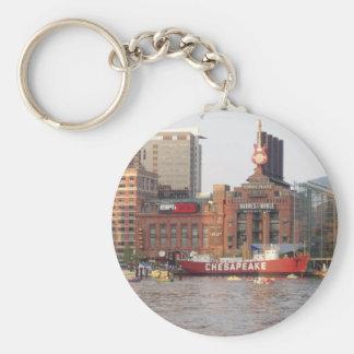 De Haven van Baltimore Sleutelhanger