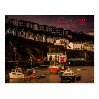 De Haven van Cornwall Briefkaart
