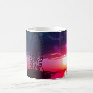 De Haven van de zonsondergang Koffiemok