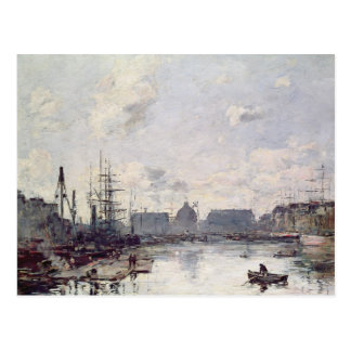 De haven van Handel, Le Havre, 1892 Briefkaart