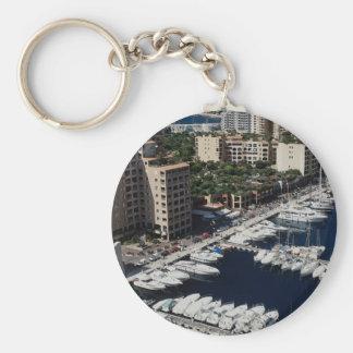 De haven van het jacht, Monaco Sleutelhanger