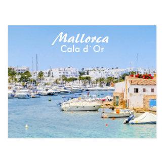 De Haven van Mallorca van Cala D ` of Briefkaart