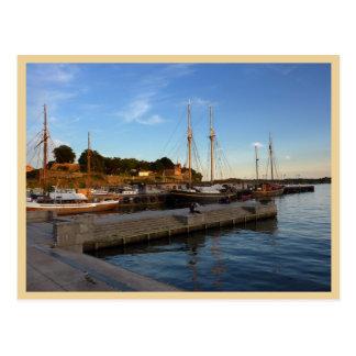 De Haven van Oslo Briefkaart