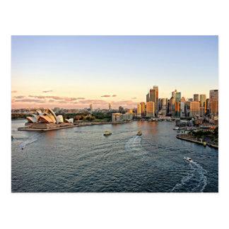 De Haven van Sydney - Australië - Briefkaart