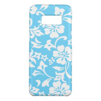 De Hawaiiaanse Hibiscus Turq van Pareau van Case-Mate Samsung Galaxy S8 Hoesje
