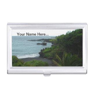De Hawaiiaanse Houder van het Visitekaartje van he Visitekaartjes Houder