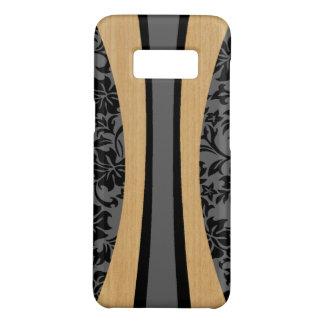 De Hawaiiaanse Houten Grijze Surfplank Faux van Case-Mate Samsung Galaxy S8 Hoesje