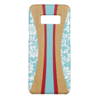 De Hawaiiaanse Houten Surfplank Faux van Laniakea Case-Mate Samsung Galaxy S8 Hoesje