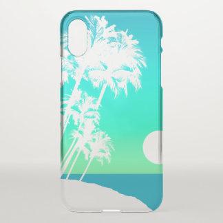 De Hawaiiaanse Palm Schilderachtig Turq van de iPhone X Hoesje