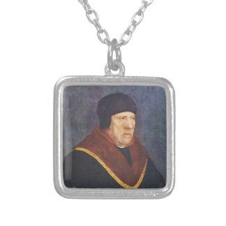 De heer Henry Wyatt door Hans Holbein Jonger Zilver Vergulden Ketting