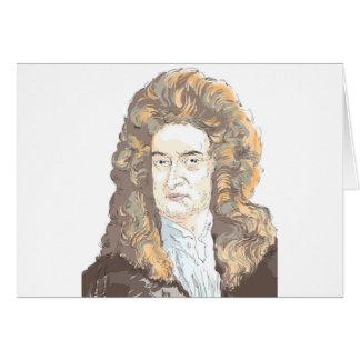 De heer Isaac Newton Kaart