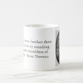 De heer Isaac Newton Koffiemok