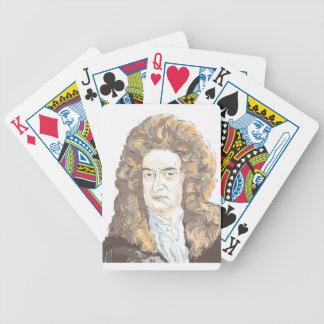 De heer Isaac Newton Pak Kaarten