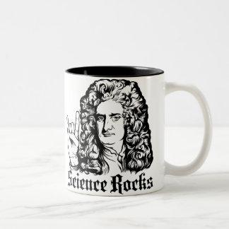 De heer Isaac Newton Science Rocks Mugs Tweekleurige Koffiemok