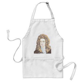 De heer Isaac Newton Standaard Schort