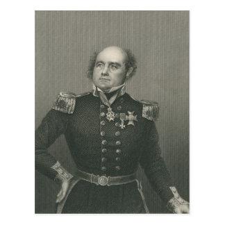 De heer John Franklin Briefkaart