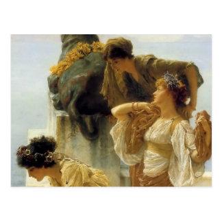 De heer Lawrence Alma-Tadema Coign van Voordeel Briefkaart
