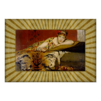 De heer Lawrence Alma-Tadema - Kersen Poster
