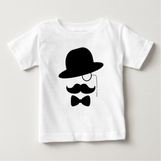 De heer met Snor Baby T Shirts