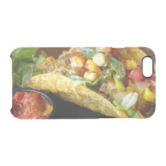 de heerlijke Mexicaanse foto van Taco's Doorzichtig iPhone 6/6S Hoesje