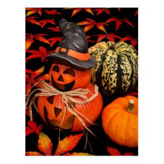 De hefboom-o-Lantaarn van de herfst Briefkaart