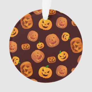 De hefboom-o-Lantaarn van Halloween het Patroon Ornament