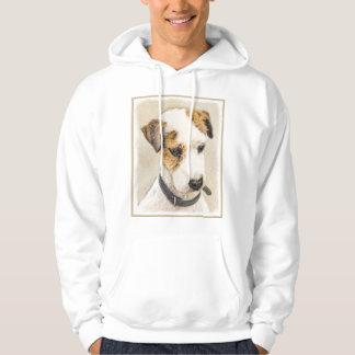 De Hefboom Russell Terrier Painting 2 van de Hoodie