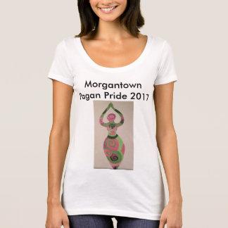 De Heidense Trots van Morgantown 2017 Vrouwen T Shirt