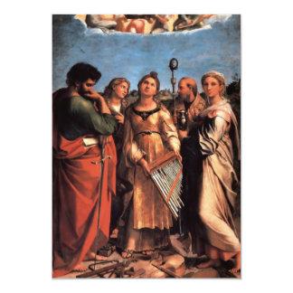de heilige Cecilia Altarpiece Kaart
