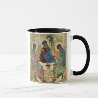 De heilige Drievuldigheid, 1420s (tempera op Mok