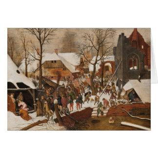 De Heilige Geboorte van Christus van de Briefkaarten 0